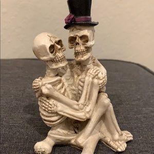 """Skeleton love """"Til death do us Part"""" figurines"""